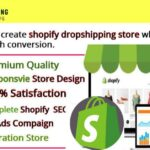 Design Your Shopify Website or Shopify Dropshipping Store