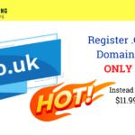 Register .CO.UK Domain For Only $2 Instead of $11.99